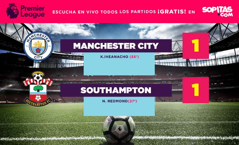 Manchester City llegó a cinco juegos sin ganar