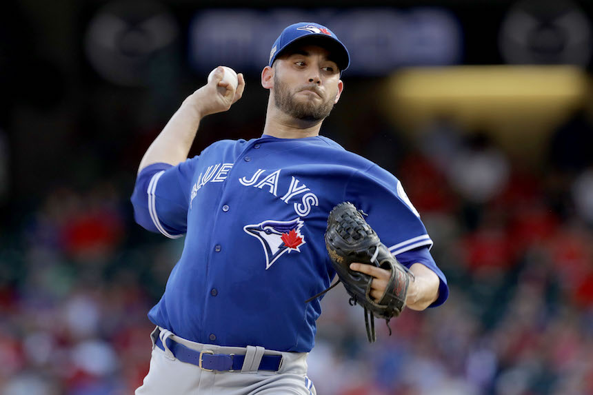 Marco Estrada, pitcher de los Blue Jays