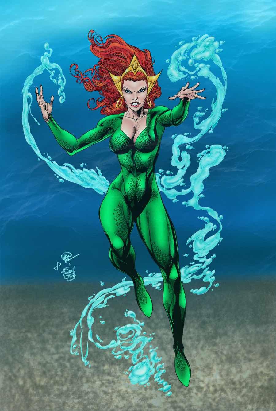 Mera Aquaman Cómics