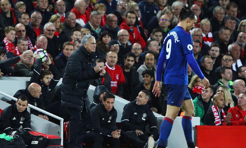 Mourinho y Zlatan han dejado mucho que desear