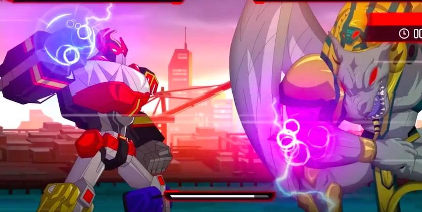 Power Rangers: Mega Battle Megazord