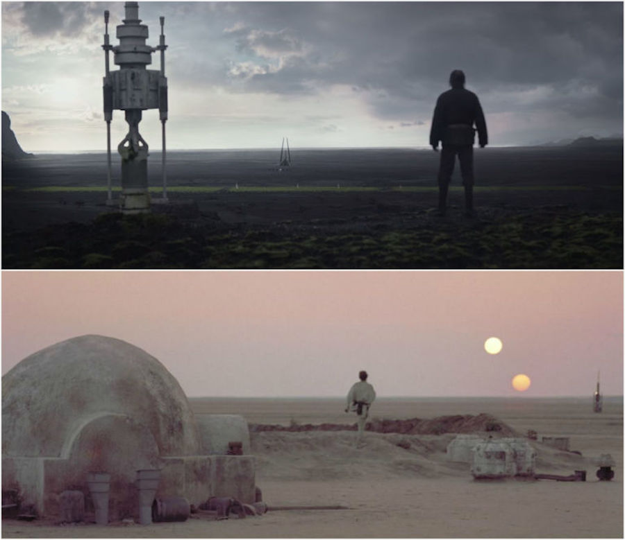 Rogue One - Referencia a Luke