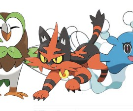 Starters en Pokémon Sun & Moon