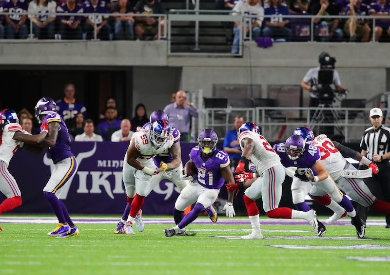 Vikings contra Giants Monday Night