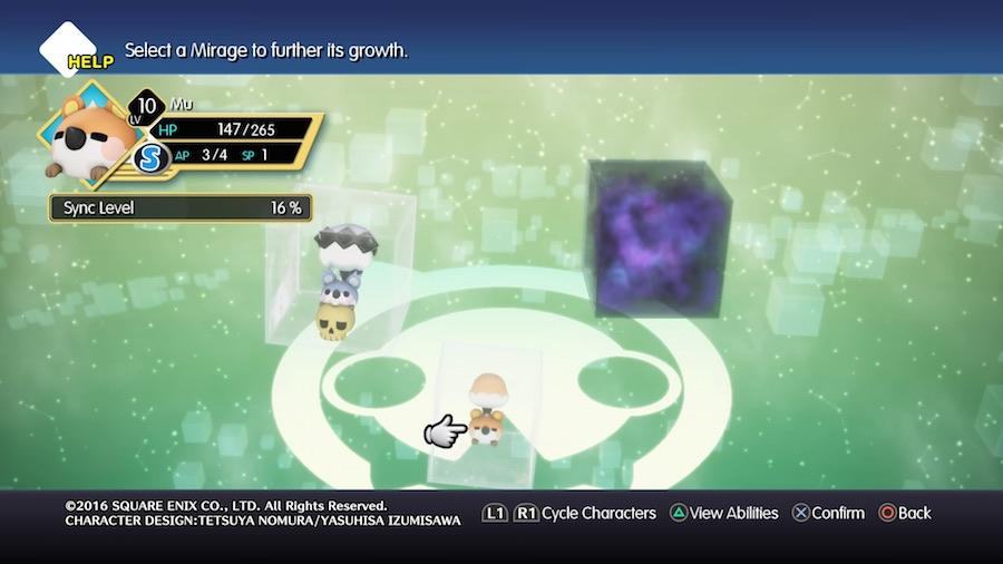 World of Final Fantasy Transfiguraciones