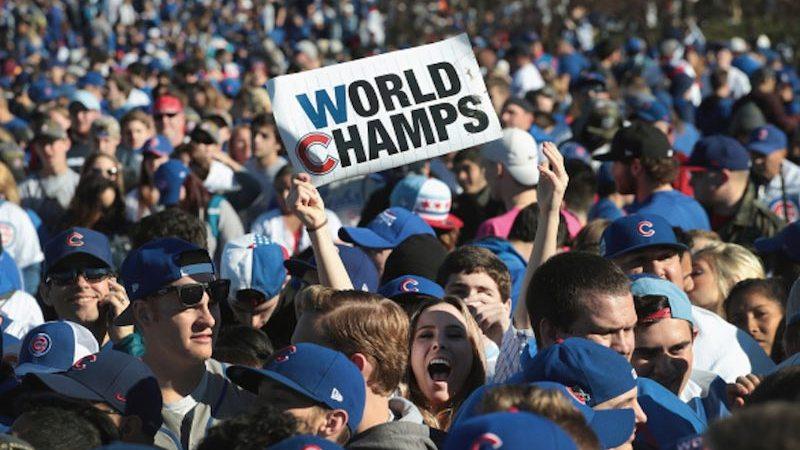 Fans Chicago Cubs