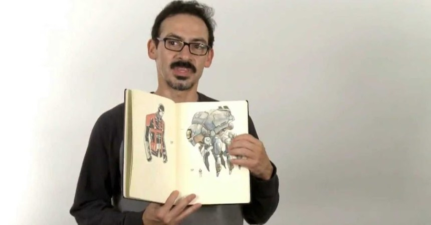 Dibujante mexicano Humberto Ramos