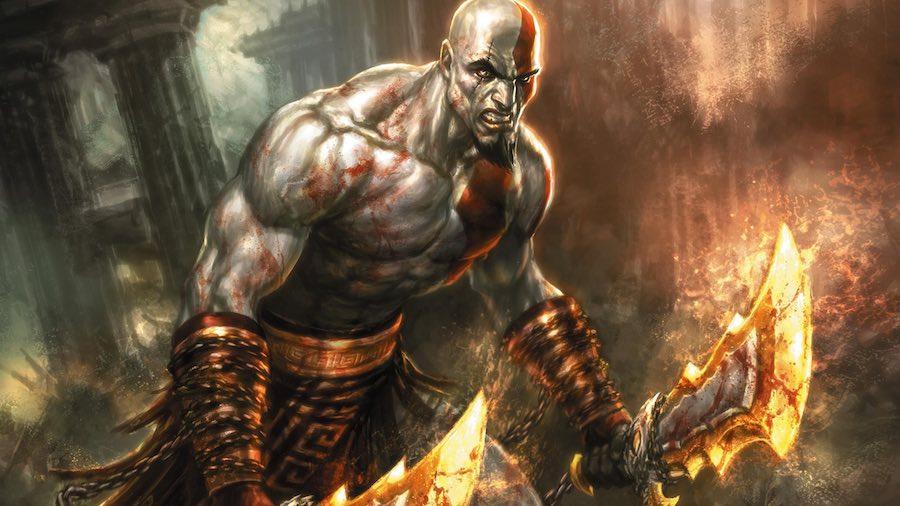 Resultado de imagen para kratos enojado