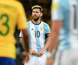 Messi triste Mundial
