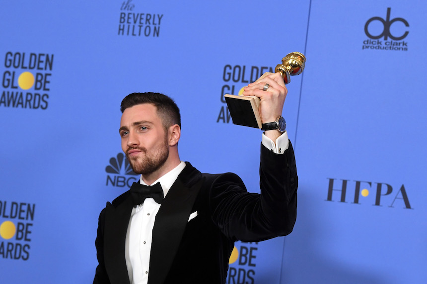 Aaron Taylor Johnson Golden Globes