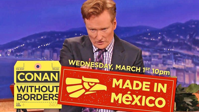 Conan O Brien En Mexico