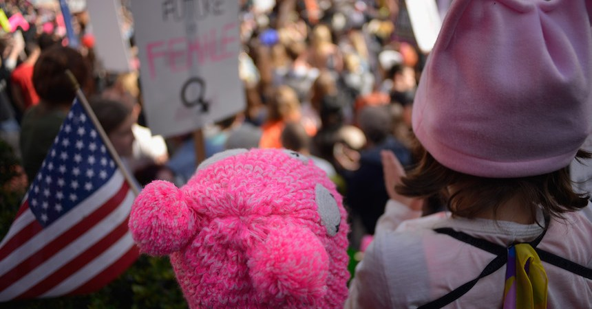 Pussy Hat Womens March