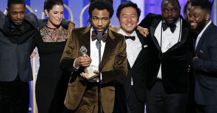 Childish Gambino triunfa en los Golden Globes