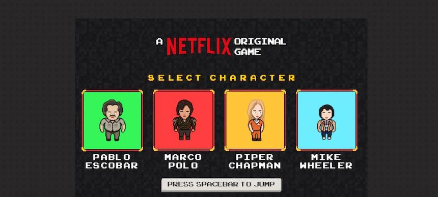 Netflix minijuegos