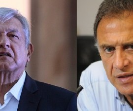 AMLO y Miguel Ángel Yunes