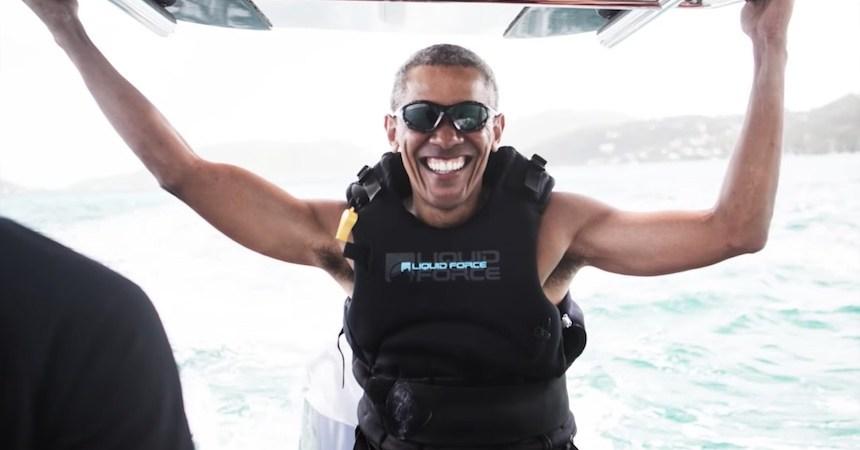 Barack Obama en vacaciones