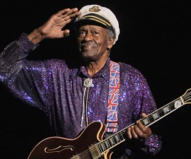 Chuck Berry despidiendose