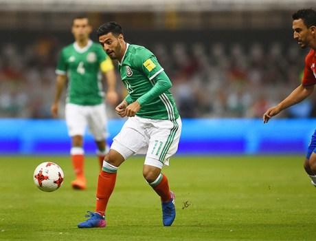 Carlos Vela con la Selección Mexicana