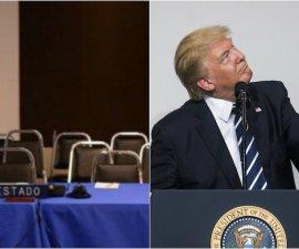 Donald Trump deja plantada a la CIDH