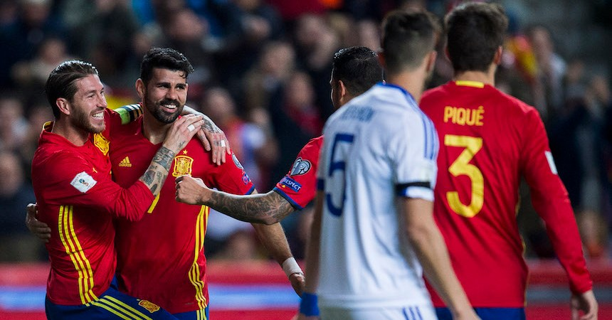 Spain v Israel - FIFA 2018 World Cup Qualifier