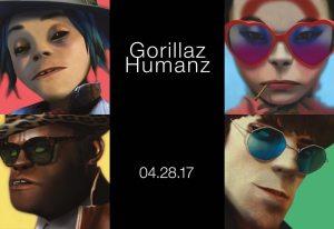 ¡¡Escuchen nueva música de Gorillaz!! Este día no podrá ser mejor…