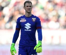 Joe Hart, portero del Torino