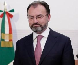 Luis Videgaray, canciller, titular de la Secretaría de Relaciones Exteriores