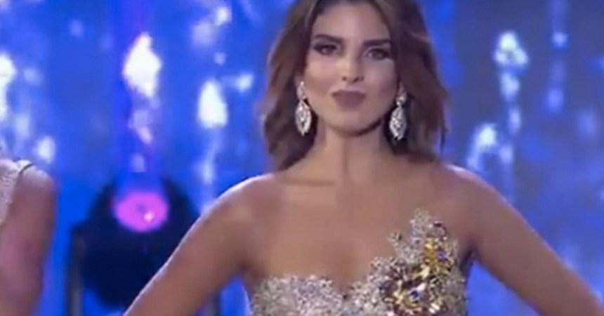 Miss Bogotá - Cara enojada