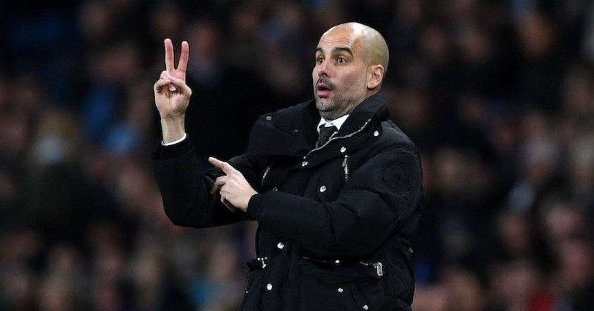 Pep Guardiola, del Manchester City