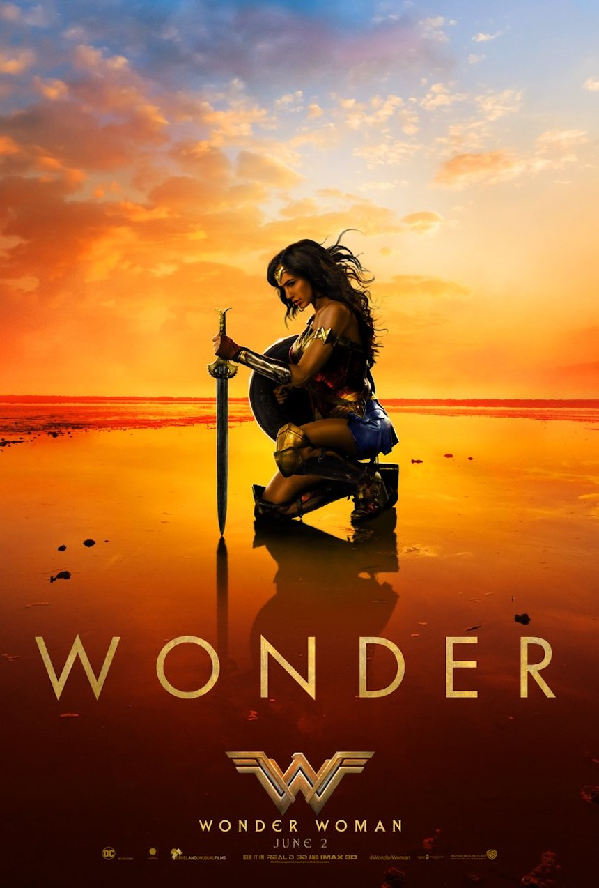 Wonder Woman Póster