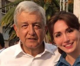 AMLO y la diputada Paola Félix Díaz