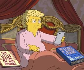 Parodia de Los Simpson de Donald Trump