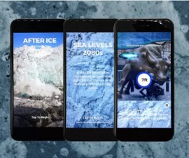 After Ice - App que visualiza el mundo sin hielo
