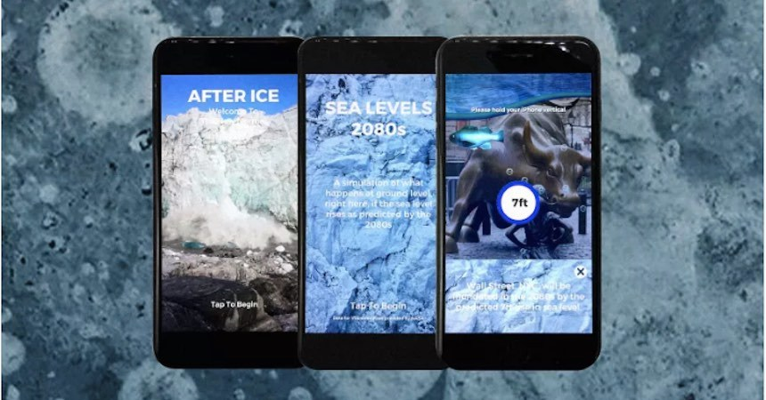 After Ice - App que visualiza el mundo sin hielo