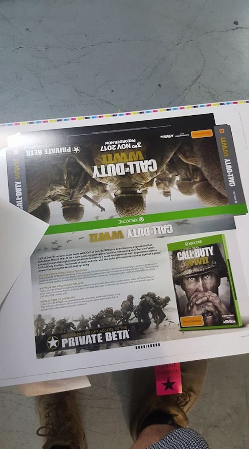 Call of Duty: WWII Promocional