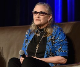 Actriz Carrie Fisher