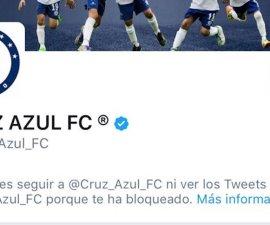 Twitter de Cruz Azul