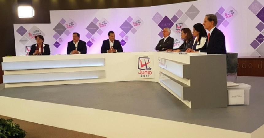 Debate entre los candidatos del Edomex