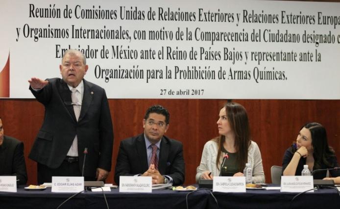 El nuevo embajador de México en Países Bajos, Edgar Elias Azar