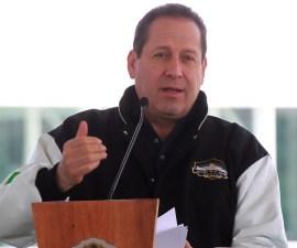Eruviel Ávila, gobernador del Estado de México