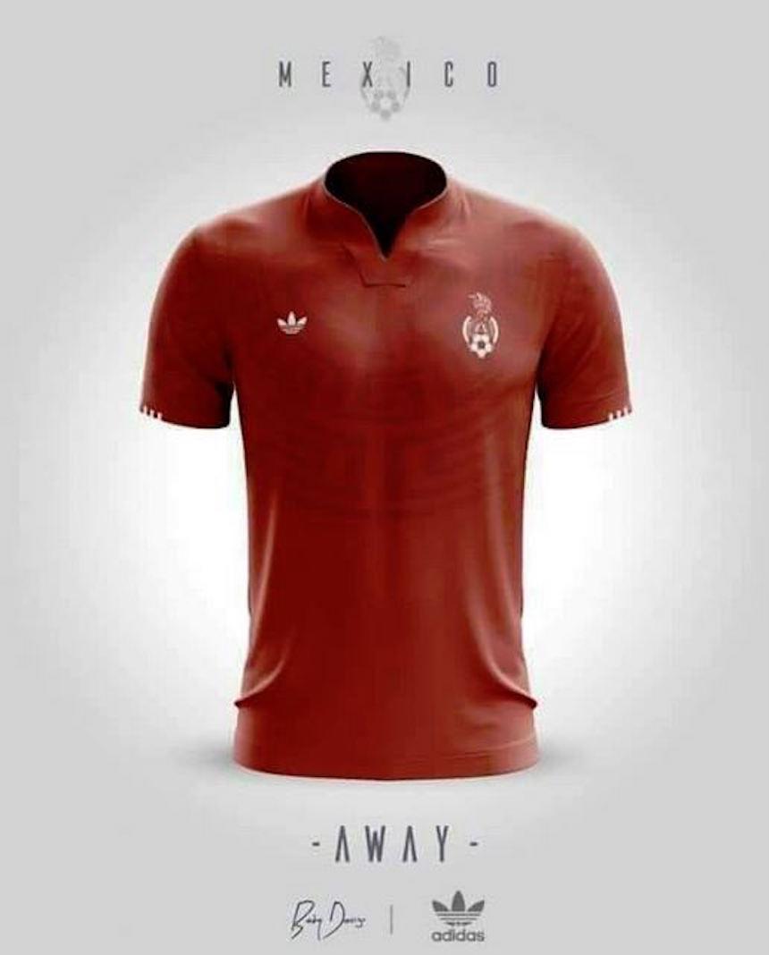 Jersey alternativo de la Selección Méxicana
