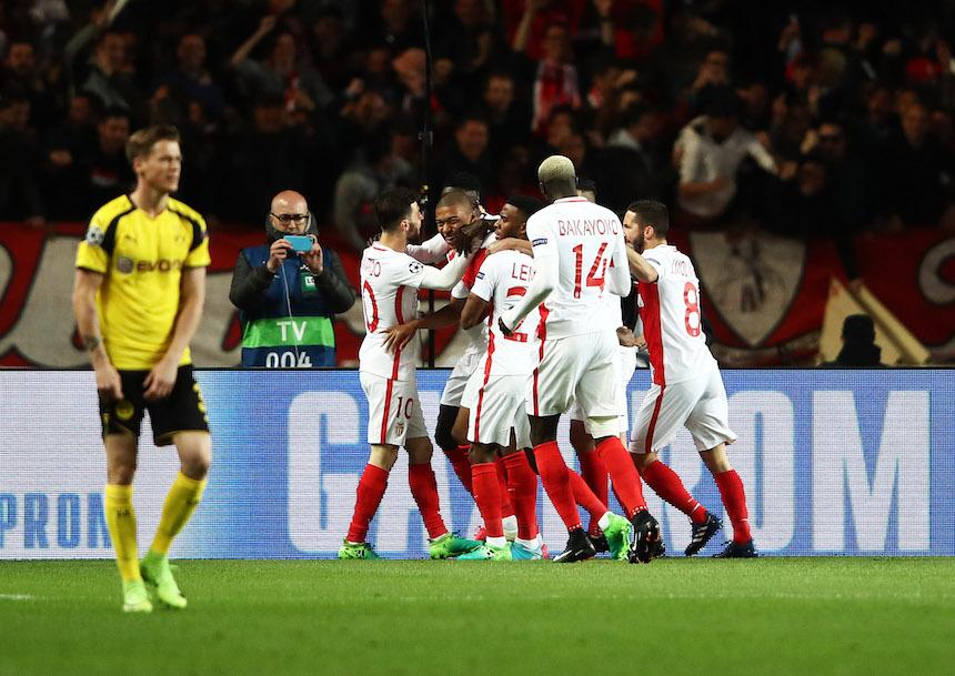 AS Monaco v Borussia Dortmund - UEFA Champions League Quarter Final: Second Leg