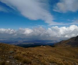 Vista desde el Nevado de Toluca