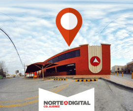 Vista panorámica de las instalaciones del periódico Norte de Ciudad Juárez