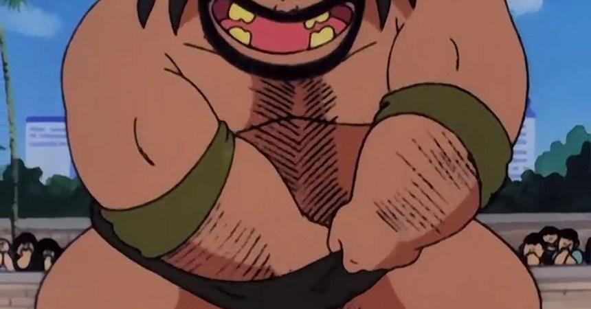 Pelear de Dragon Ball - Cuerpo sucio