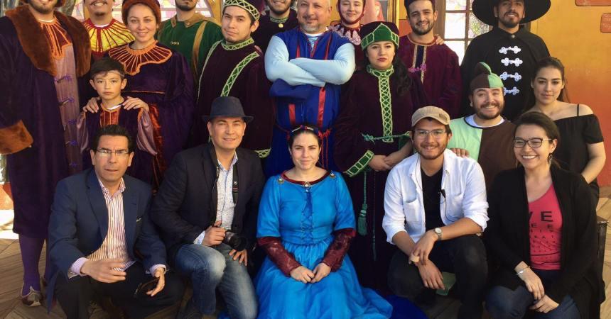 actores de la ópera Gianni Schicchi en Zacatecas