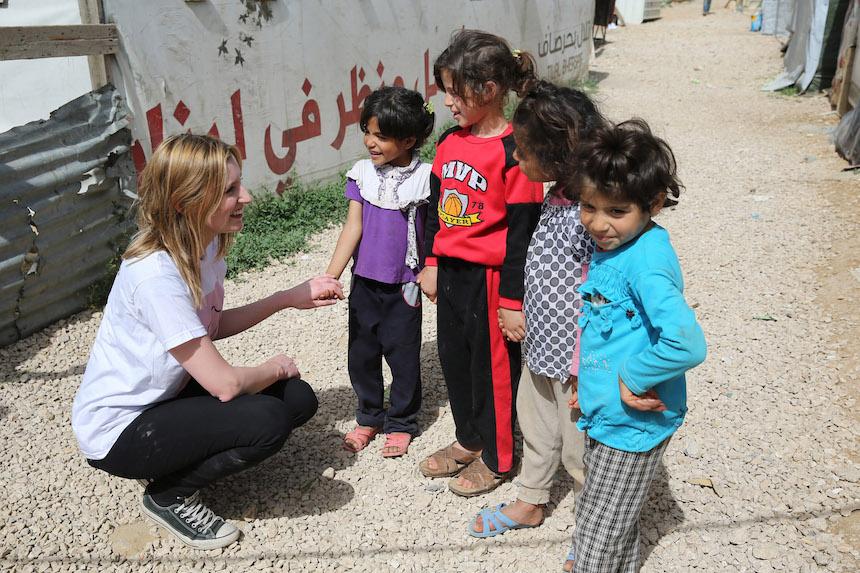 Ataque en Siria, refugiados