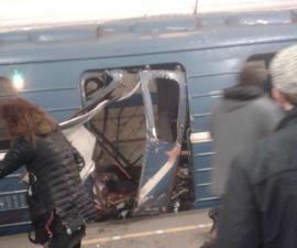 Se registra explosión en metro de San Petersburgo