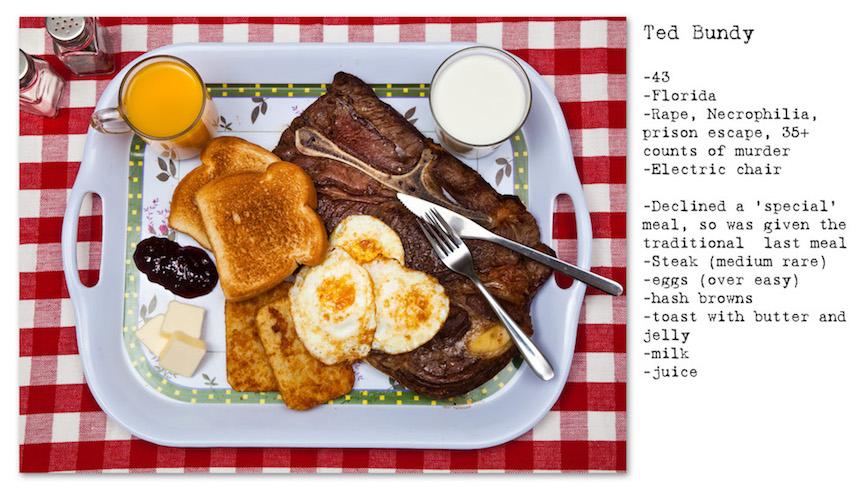 Comida de Ted Bundy