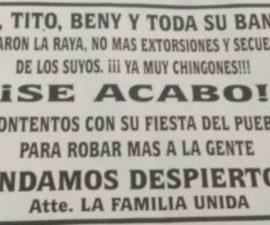 """""""Narcovolante"""" lanzado desde helicóptero, en Estado de México"""